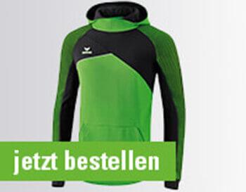 Erima Premium One 2.0 Kapuzensweat Freizeit Training Verein Fashion Fußball NEU!