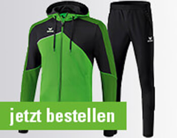Erima Premium One 2.0 Trainingsanzug mit Kapuze