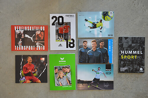 teamsport kataloge 2018