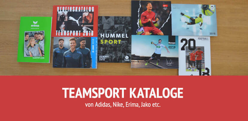 Teamsport Kataloge